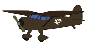 airplane without background